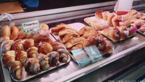 シチリアバルで食べられる定番の菓子パン