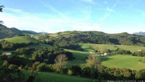 ピレネー山脈の景色